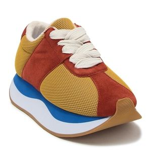 NIB Jeffrey Campbell multi platform sneakers